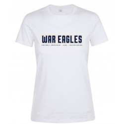 NEW T-shirt femme blanc War...
